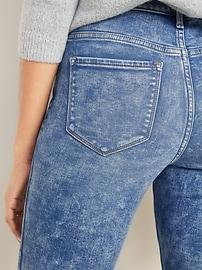 Mid-Rise Built-In Warm Rockstar Jeans for Women