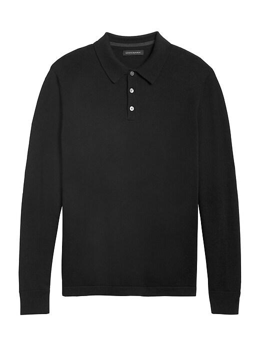 Italian Merino Sweater Polo