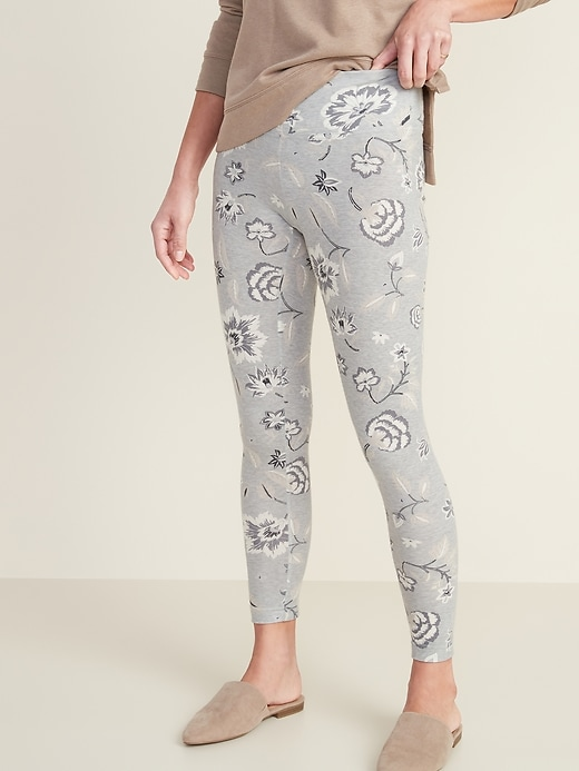 High-Waisted Printed Leggings for Women