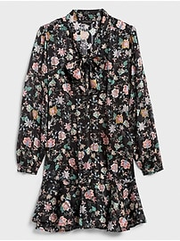 Floral Print Swing Shift Dress