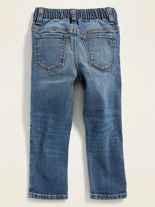 Karate Built-In Flex Skinny Patchwork Jeans for Toddler Boys