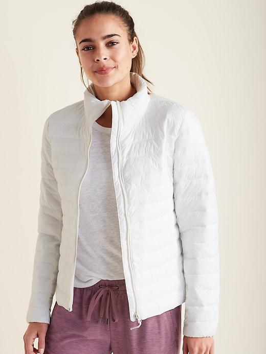 Packable Puffer Jacket for Women