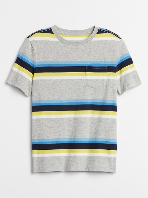 Kids Stripe Short Sleeve T-Shirt