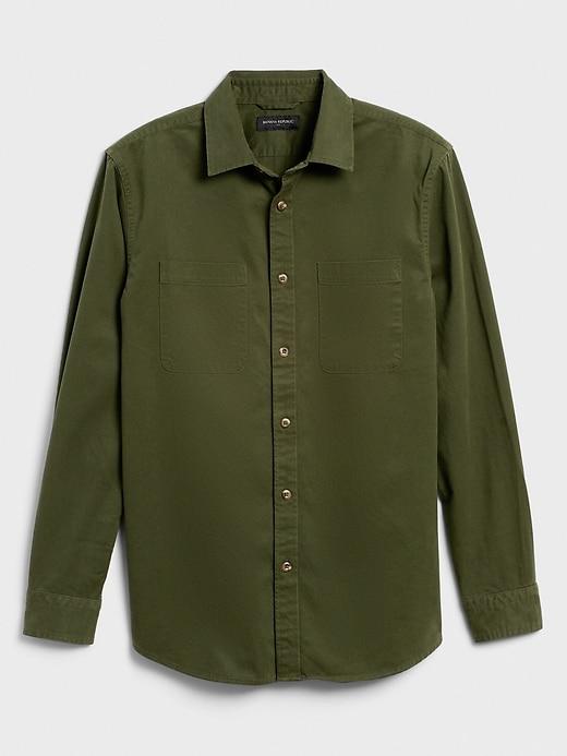 Standard-Fit Bedford Corduroy Shirt