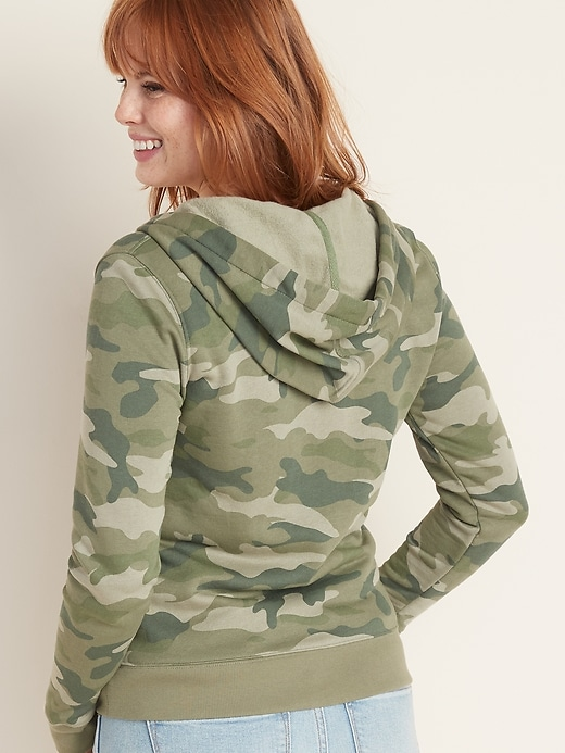 Relaxed Zip Hoodie for Women