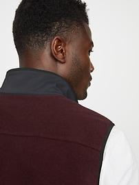 Hybrid Fleece Popover Vest