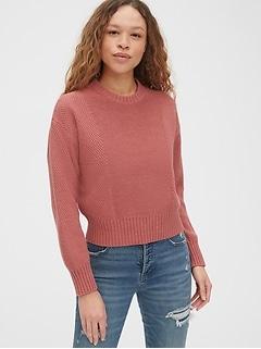 New NWT Gap Kids Girls Size 8 Mix-Stitch Sweater Open Mesh /& Cable Soft Black