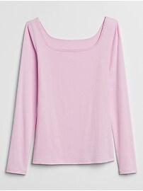 Square-Neck T-Shirt