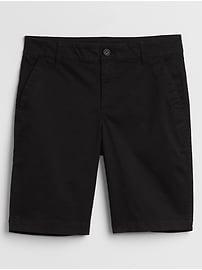"""9"""" Khaki Bermuda Shorts"""