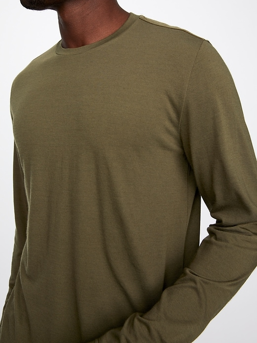 Long Sleeve Everyday Merino Tee