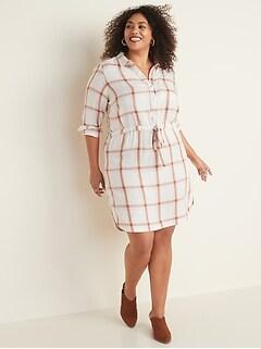 Women\'s Plus Shirt Dress Dresses & Jumpsuits | Old Navy