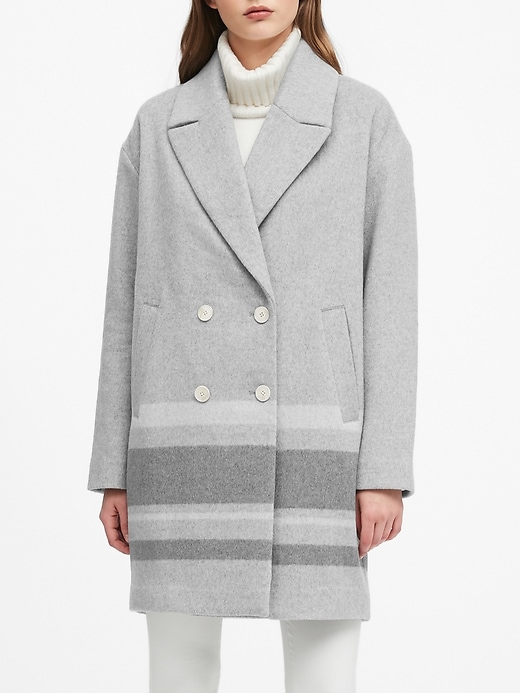 Oversized Double-Faced Cocoon Coat