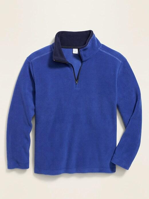 Go-Warm Micro Performance Fleece 1/4-Zip Pullover for Boys