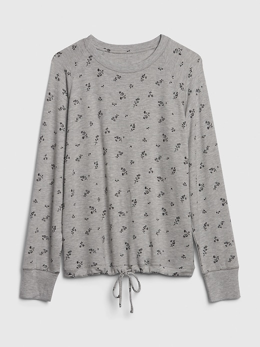 Super Soft Terry-Knit Top