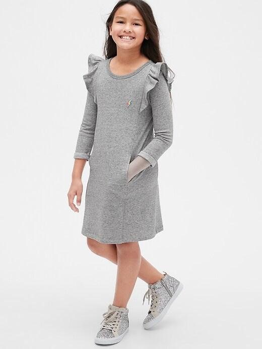 Kids Cascade Ruffle Dress