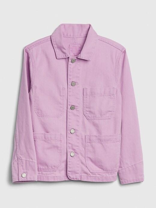 Kids Denim Chore Jacket