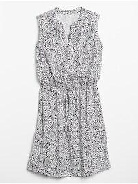 Tie-Waist Dress in Rayon