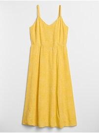 Print Cami Midi Dress