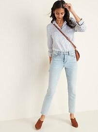 Striped Pocket Shirt for Women