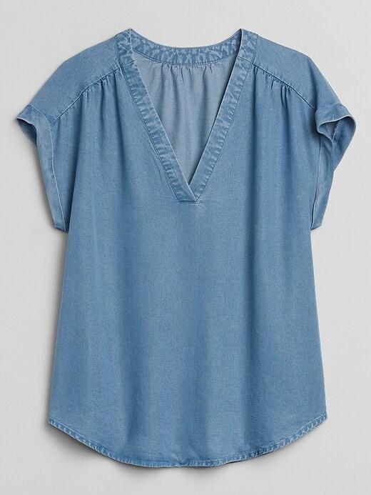 Short Sleeve Top in TENCEL&#153