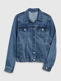 Soft Wear Denim Icon Jacket