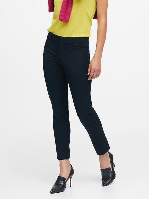 Petite Classic Sloan Skinny-Fit Pant