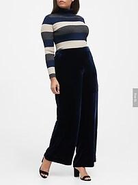 Metallic Turtleneck Sweater Top