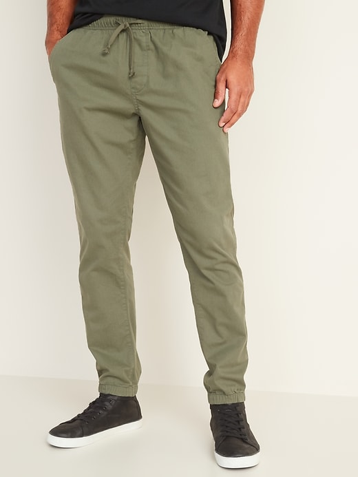 Built-In Flex Twill Joggers for Men