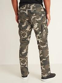 Straight Lived-In Built-In Flex Cargo Pants for Men