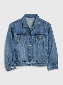 Crop Denim Icon Jacket