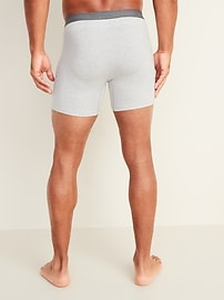 Soft-Washed Boxer Briefs for Men - 6-inch inseam