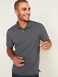 Deals on Old Navy Mens Built-In Flex Moisture-Wicking Pique Pro Polo