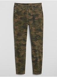 Mid Rise Curvy Legging Jeans