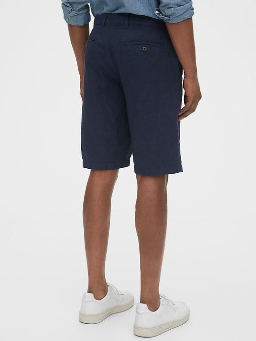 """12"""" Linen Shorts"""