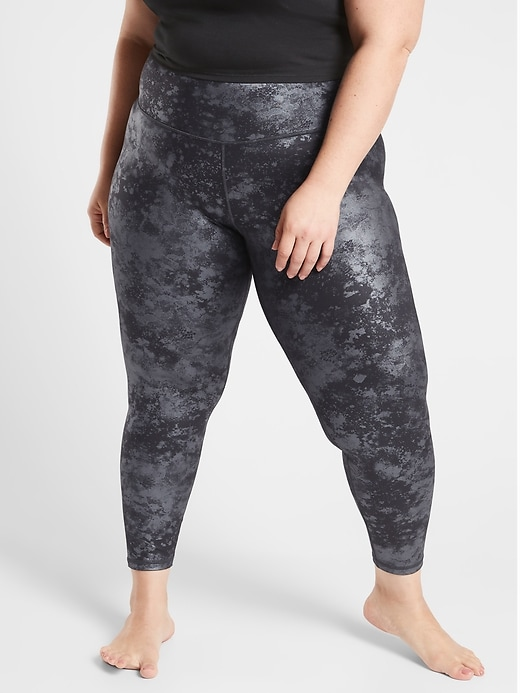 Elation Ultra High Rise Misty Lace Tight in Powervita
