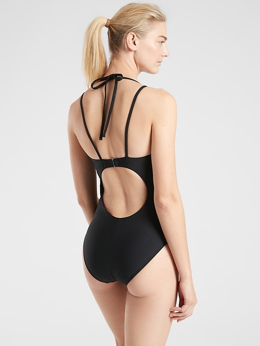 Keyhole One Piece Swimsuit