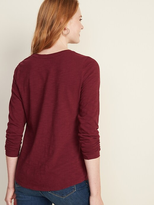 EveryWear Slub-Knit Tee for Women
