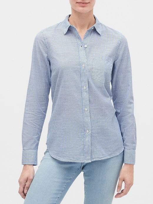 Stripe Long Sleeve Shirt