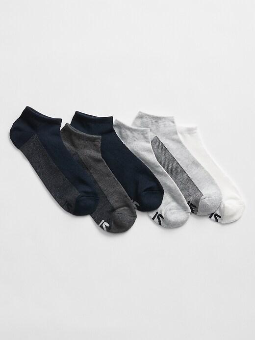 GapFit colorblock ankle socks (6-pack)