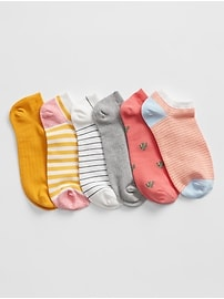 Deals on Gap Ankle Socks 6-Pack