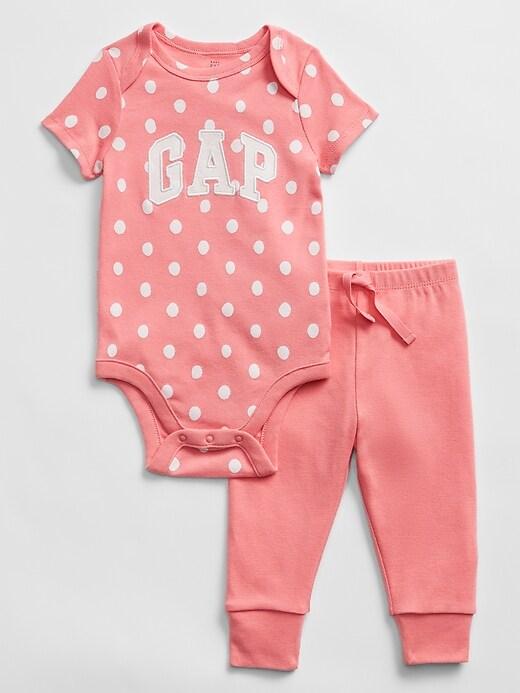 Baby Graphic Bodysuit Set