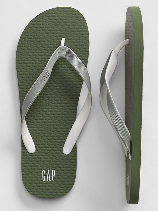 Gap + Pride Print Flip Flops