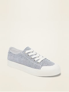 Twill Platform Sneakers for Women | Old