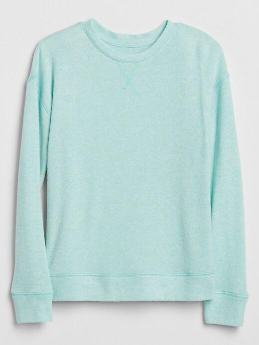 Kids Softspun Drop-Shoulder Long-Sleeve T-Shirt