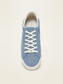Lace-Up Textile Sneakers for Women