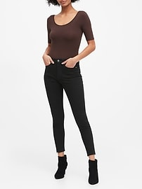 Petite High-Rise Skinny Fade-Resistant Ankle Jean