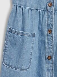 Kids Denim Pocket Dress