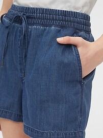 Indigo Twill Shorts