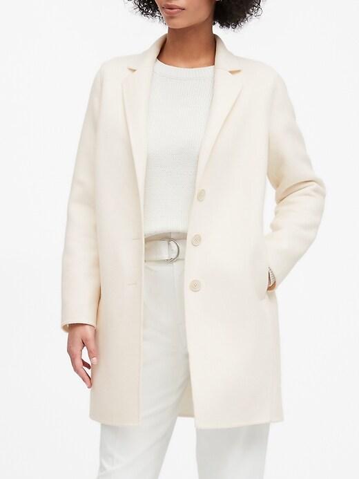 Manteau à revers double
