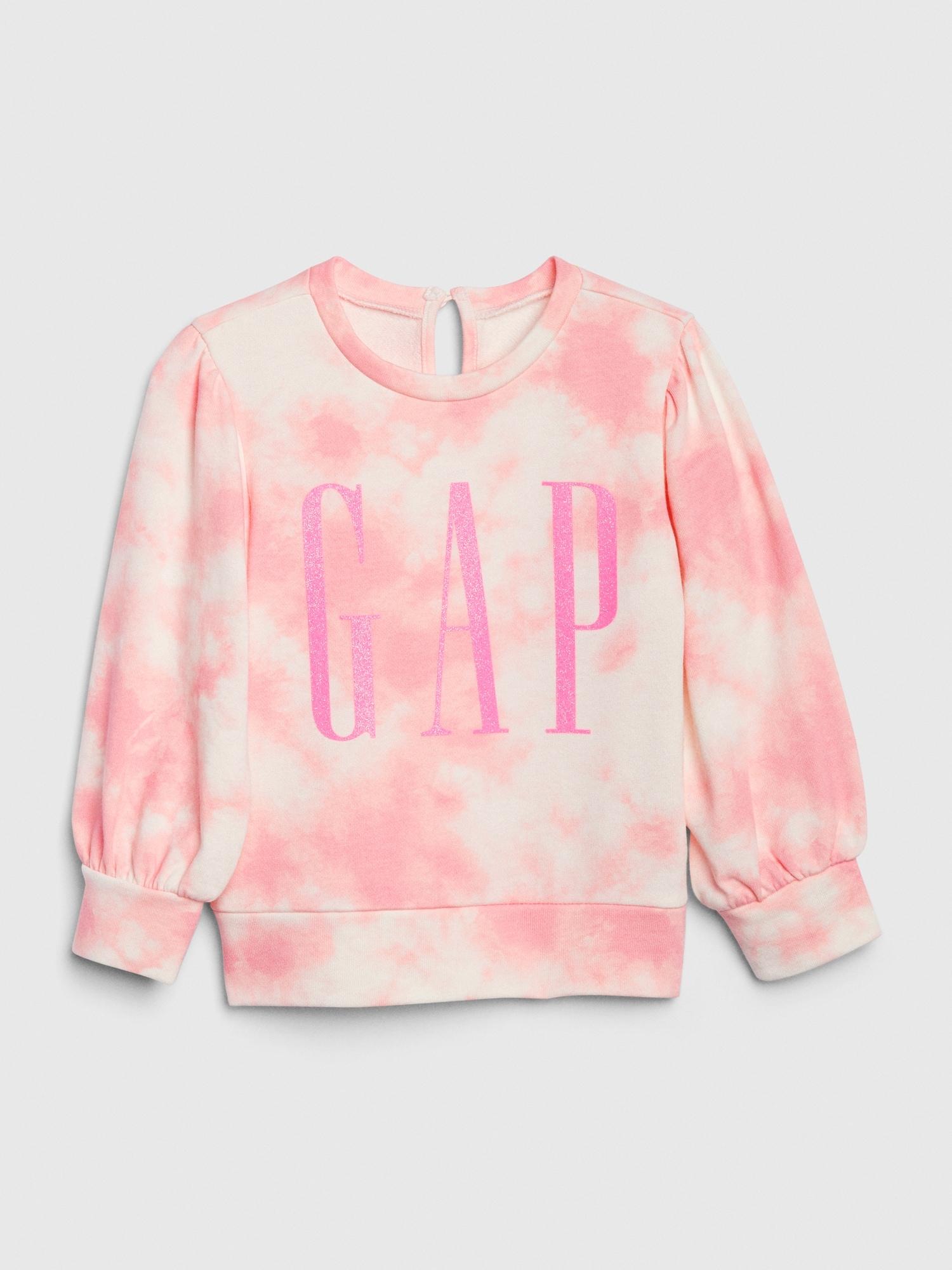レインボー Gapロゴスウェットシャツ (幼児)